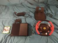 Xbox one 500gb w/controller, steering wheel and Forza