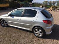 Peugeot, 206, Hatchback, 2005, Manual, 1997 (cc), 5 doors