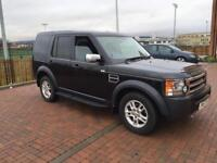 Land Rover discovery 3 GS 2.7 tdv6 manual 7 seater fsh 2008 registered