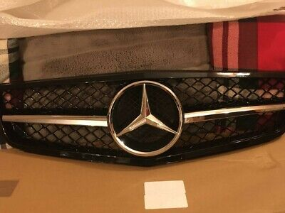 Mercedes amg Style Front Grill For C Class W204 07-14