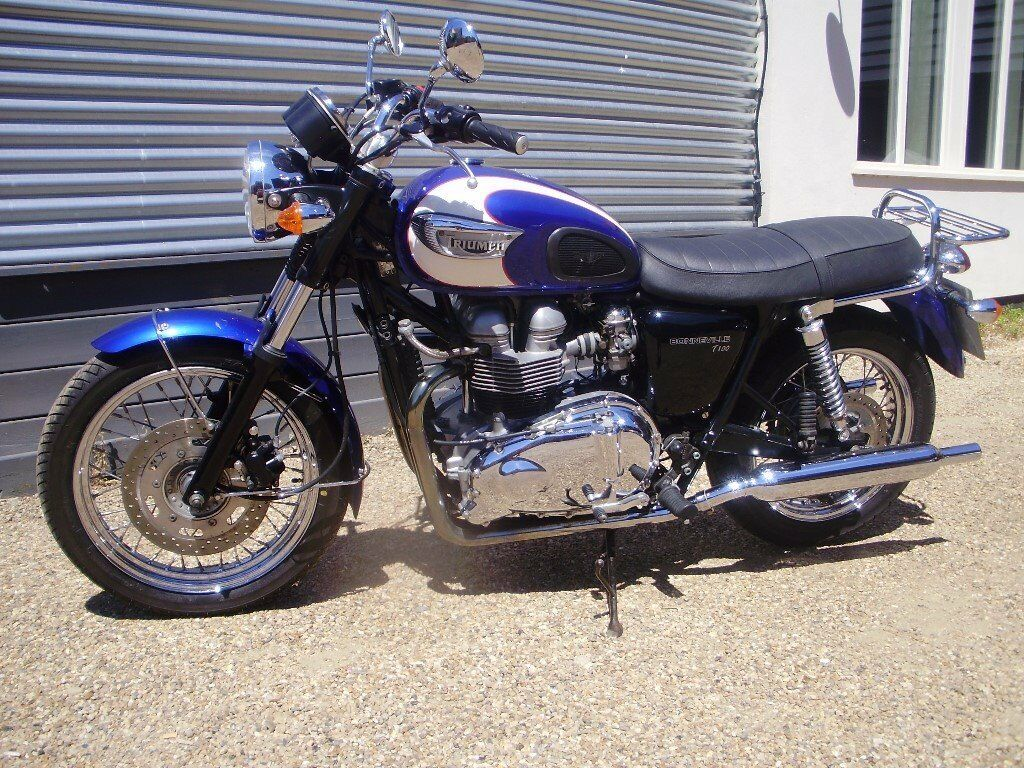 triumph bonneville t100 790cc 2004 in diss norfolk gumtree
