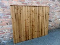 Heavy Duty Featheredge Fence Panels