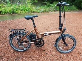 A2B Kuo + Electric Folding Bike, Still under warranty