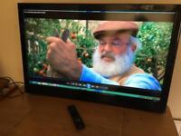 "Luxor 42"" LCD tv full HD 1080p fully working"