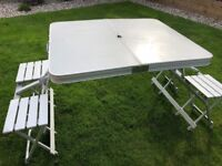 Folding Picnic Bench & Chairs by Gelert