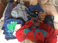 Boys bundle mostly 18 to 24 moths. Great makes Ted Baker, John Rocha, Next, duffer,