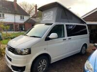 VW T5 Campervan White 2.0l Tdi