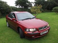 VOLVO S40 SPORT 1.8 RED 02 FOR SALE