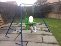 Small Wonders Toddler Garden Swing - SETUP and READY to go