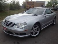 2003 Mercedes-Benz SL500 | LOW LOW KMS | LEATHER | *CONVERTIBLE*