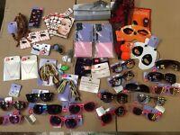 Claires Accessories Joblot Sunglasses Earrings Halloween Makeup