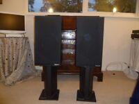 Rogers LS6a/2 Speakers & Atacama Speaker Stands