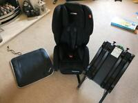 Recaro sport young expert plus car seat group 1/2/3 with isofix