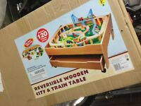 Kids Toy Reversible Train Set