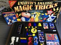 Magic tricks set