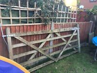 Wooden gate in perfect condition no rotting. Need it gone asap as moving home soon. Buyer collects