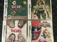 Nintendo Ds Games including Power rangers and more