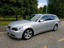 BMW 525d se touring, leather seats, SAT NAV