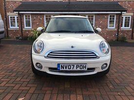 Mini One 1.4 2007, White, 12 months MOT
