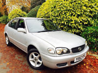 **ONLY 23K MILES** TOYOTA COROLLA 1.4 CALIDA GS + FULLY SERVICED + 1 MATURE OWNER FROM 2002+SPOTLESS
