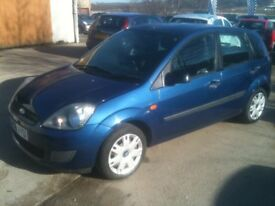 58 PLATE FORD FIESTA 1.4 STYLE CLIMATE 5DR 69000MILES £2650