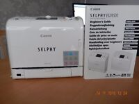 Canon Selphy ES2 Photo Printer : As new complete with some print paper/film