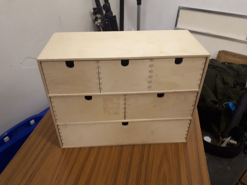 Ikea desk top drawers. Good condition