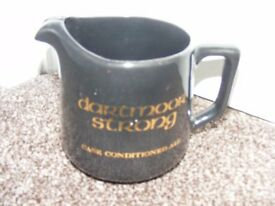Vintage Ceramic Jug Advertising Dartmoor Strong Ale.