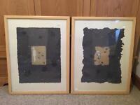 2x Framed Prints & Large Wall Art Print