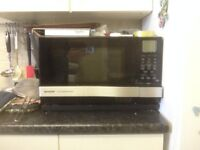 Sharp AX-1100M microwave with steam and grill