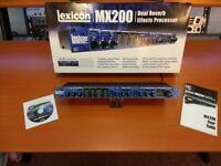 Lexicon MX200 Multi effects unit (as new faultless condition)