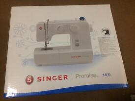 Singer sew machine and sew essential