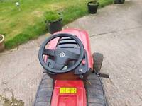 Ride On Lawnmower it is a mountfield very very good condition. It is 9month old