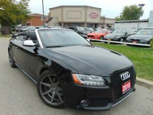 2010 Audi S5 TRIPLE BLACK-NAVI-333HP!!!