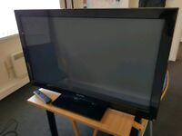 "42"" FULL HD (1080P) TV - Panasonic P42U30B, Stand and Remote for sale"