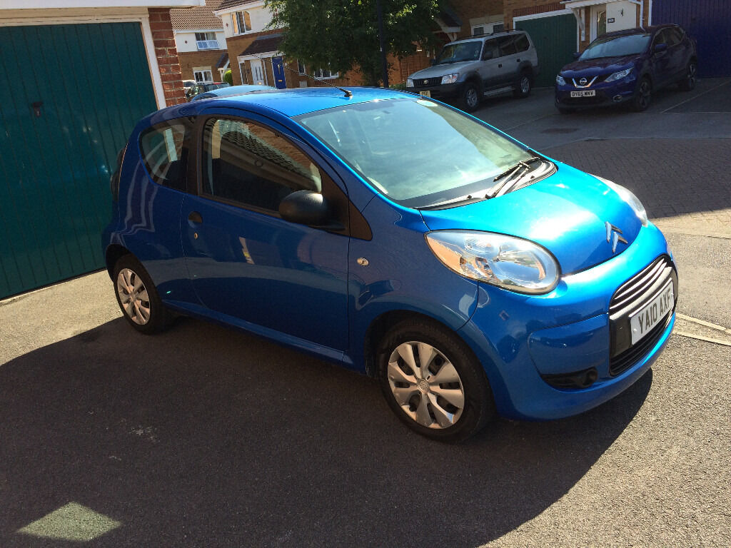 Find the best used cars in the uk for cheap citroen c1 2010 blue manual