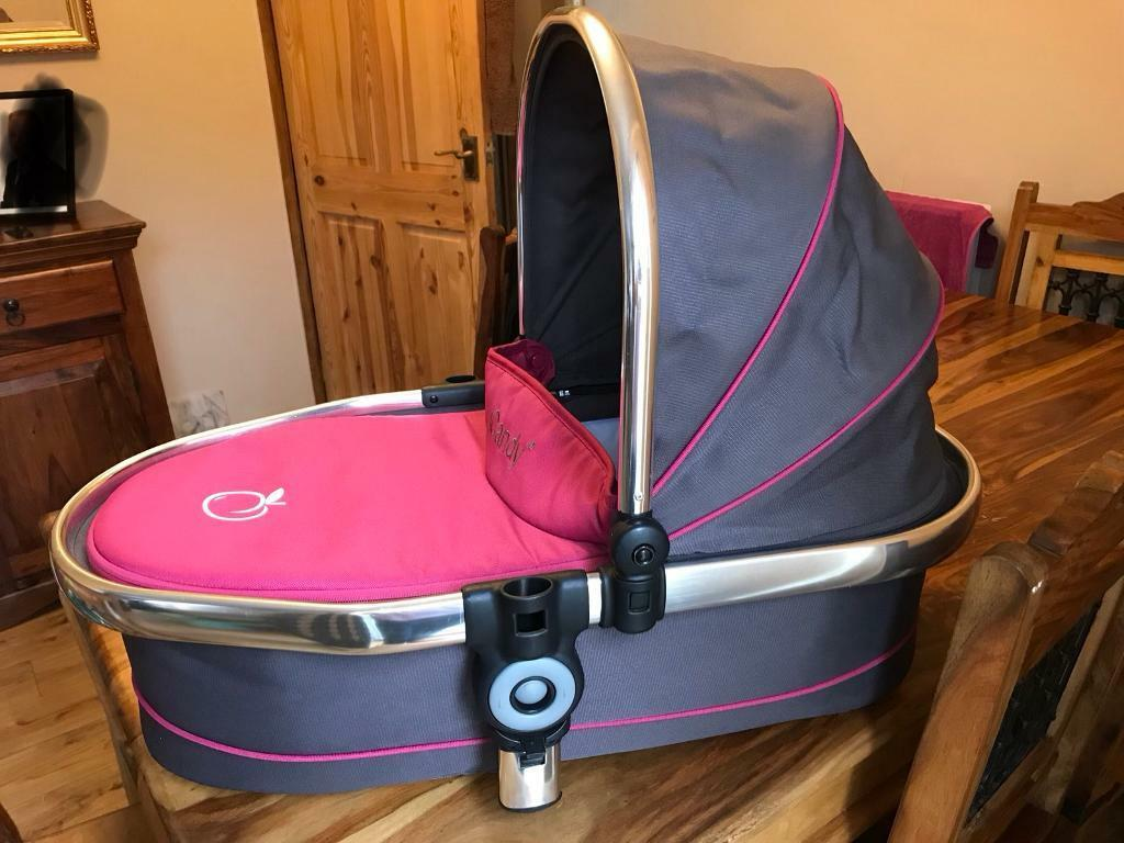 Icandy peach lower carrycot in bonbon colour