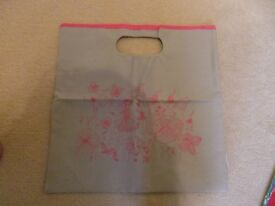 GREY RECYCLED BAG