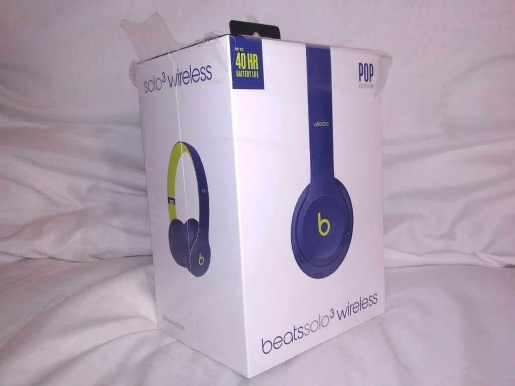 a86619aff1c Apple Beats Solo3 Wireless On-Ear Headphones – Beats Pop Collection – Pop  Indigo