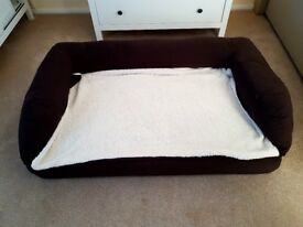 Unused dog bed for sale