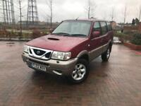 2002/02 NISSAN TERRANO 2.7 TD AUTO 4x4 DIESEL 7 SEATS LEATHERS SERVICE HISTORY