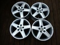 Audi genuine 17inch alloys alloy wheels
