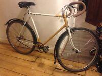 Bicycle - Vintage Raleigh Singlespeed Commuter Bike