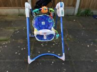 Fisher Price baby swing Link-A-Doos Magic Motion good working order
