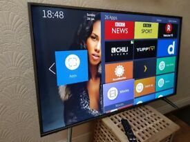 HISENSE 55-inch 55N5500 UHD 4K HDR Smart LED TV,built in Wifi,Freeview HD & FREESAT HD,FULLY WORKING