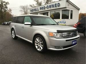 2011 Ford Flex Ecoboost Limited AWD...1-owner trade, Moonroof, L