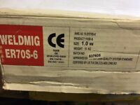 MIG WELDMIG WIRE - ER 70S - 6 WELDING WIRE - 1.0 mm - 15 kg SEALED