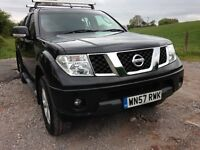 NISSAN NAVARA 4X4 , 57 PLATE , PICK UP WITH BACK BODY BOX DIESEL ...... NO VAT