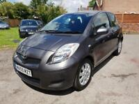 2009 (59) TOYOTA YARIS TR-3DR,43000 GENUINE LOW MILES,ONE OWNER FROM NEW,£30 PER YEAR ROAD TAX