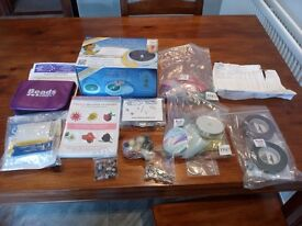 Bead spinner plus tool kit, DVD and lots of beads etc. JOB LOT